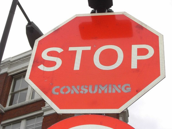 Stop consuming content? Or not?